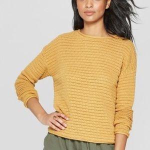 Women's Open Stitch Pullover Sweater